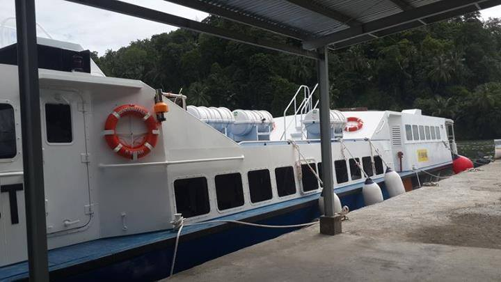 Mentawai Fast Ferry - just 3-4 hours travel time